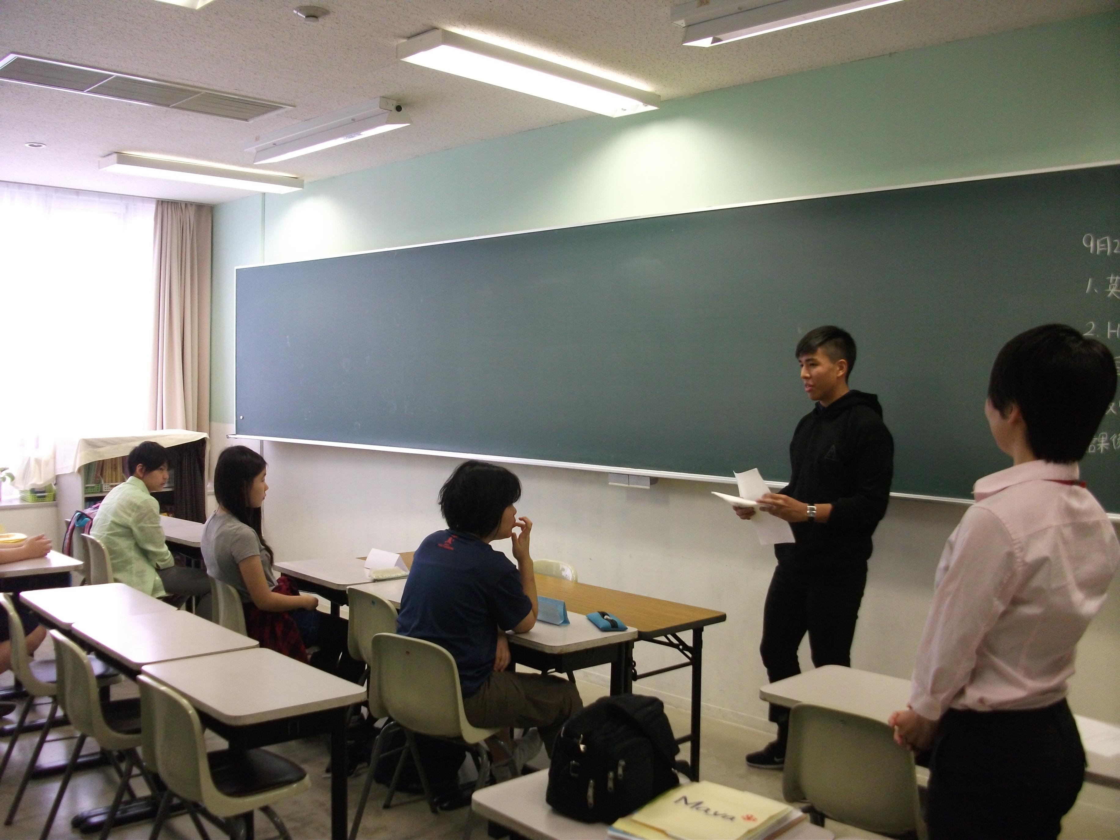 英語の特別授業