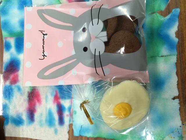 チョコクッキー&目玉焼きチョコ