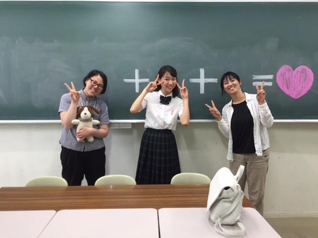 卒業生が来てくれました!!