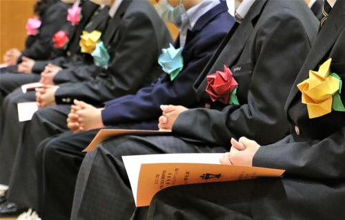17入学礼拝2