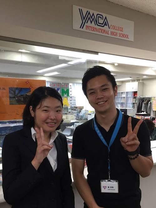 【9/27(水) IHS卒業生(2017年卒業・27期生)の衣川さん 来訪】